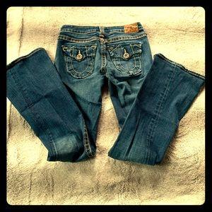 True Religion Joey Big T Jeans size 26